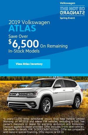 April 2019 Volkswagen Atlas