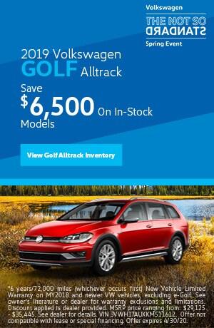 April 2019 Volkswagen Golf Alltrack