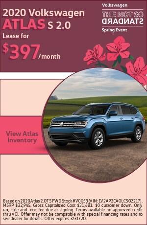 March 2020 Volkswagen Atlas
