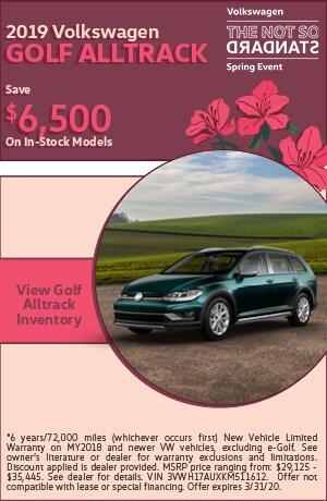 March 2019 Volkswagen Golf Alltrack
