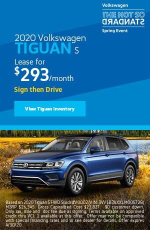 April 2020 Volkswagen Tiguan