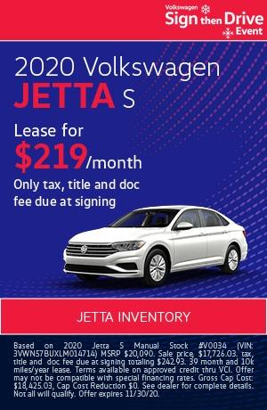 November 2020 Volkswagen Jetta