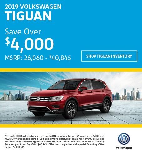 2019 Volkswagen Tiguan Offer