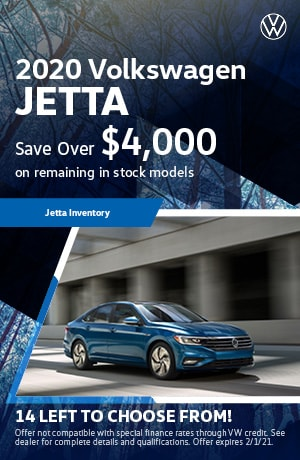 January 2020 VW Jetta