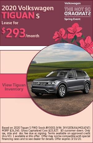March 2020 Volkswagen Tiguan