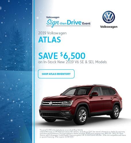 November 2019 Volkswagen Atlas