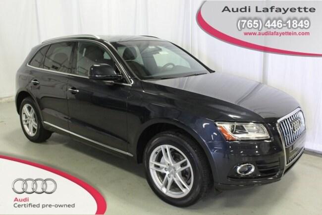 Used 2016 Audi Q5 2.0T Premium SUV Lafayette, IN