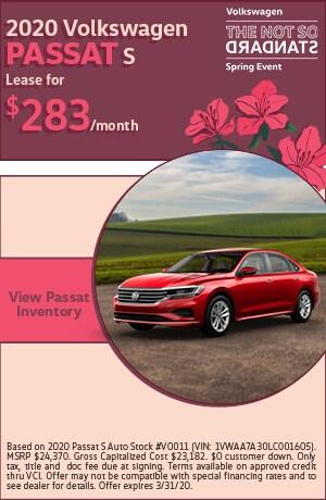 March 2020 Volkswagen Passat