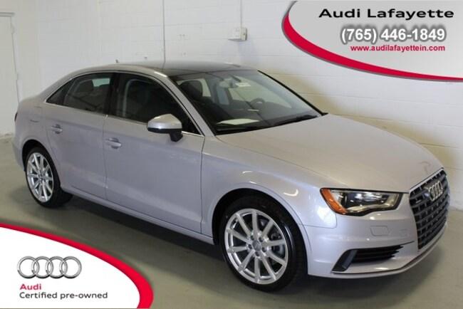 Used 2015 Audi A3 2.0T Premium (S tronic) Sedan Lafayette, IN
