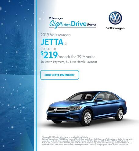 November 2019 Volkswagen Jetta S