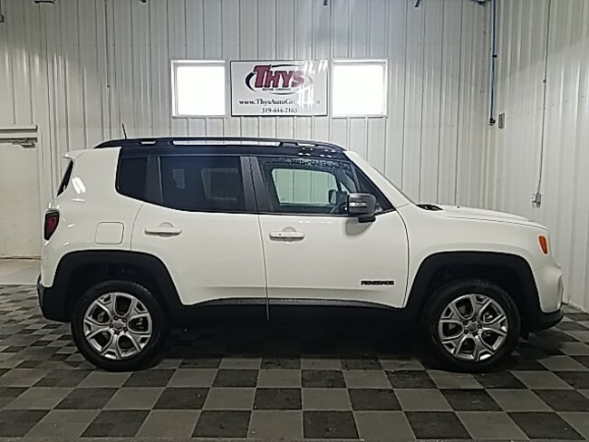 New 2019 Jeep Renegade LIMITED 4X4 Sport Utility Belle Plaine IA