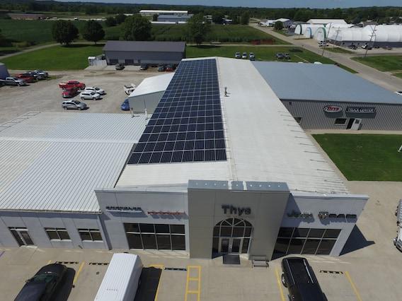 Thys Is Solar Powered Thys Motor Company