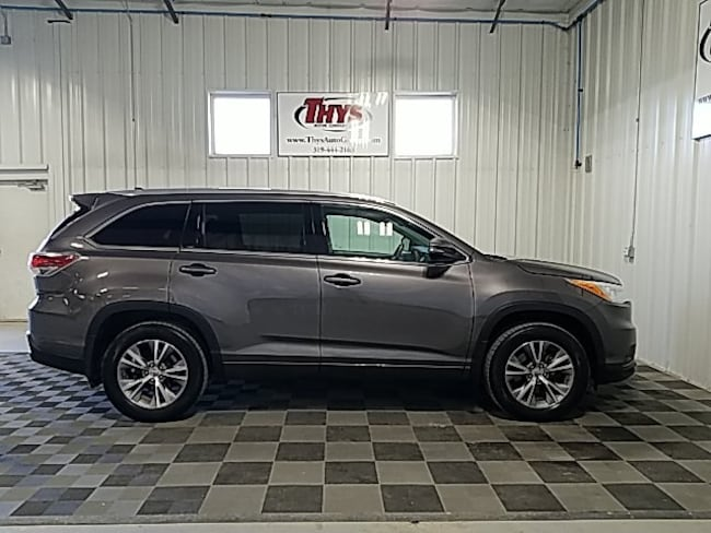 used 2014 Toyota Highlander XLE V6 SUV Belle Plaine