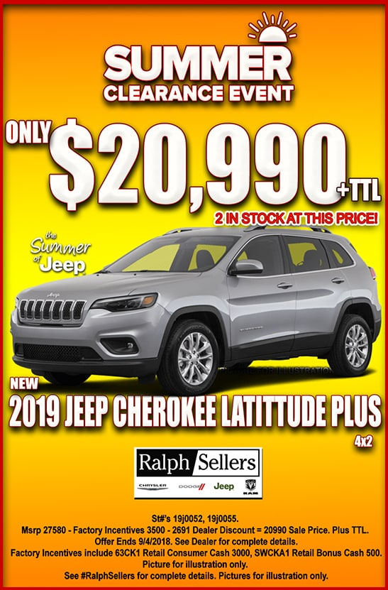 Ralph Sellers Chrysler Dodge Jeep RAM Dealership, Baton