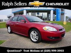 2015 Chevrolet Impala Limited 4dr Sdn LTZ Car
