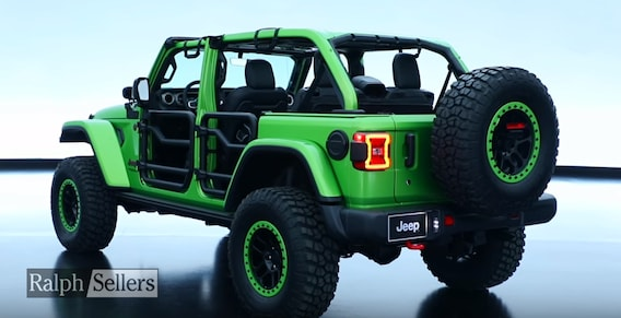 Jeep Performance Parts >> New 2018 Wrangler Jl Jeep Performance Parts Mopar