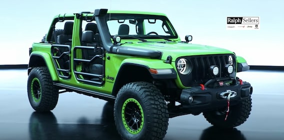 New 2018 Wrangler Jl Jeep Performance Parts Mopar Accessories Jeep Accessories Ralph Sellers Jeep