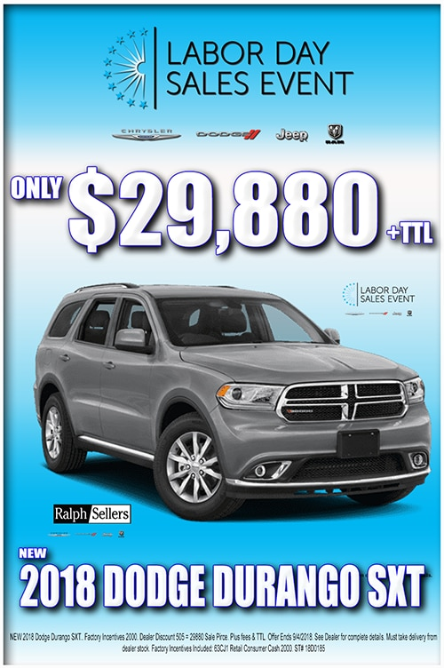 Dodge Dealership Baton Rouge >> Manager's Specials at Ralph Sellers Chrysler Dodge Jeep in ...