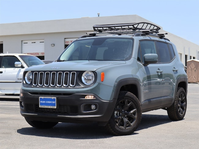 New 2017 Jeep Renegade LATITUDE 4X2 Sport Utility For Sale/Lease  Del Rio, Texas