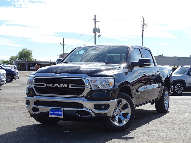 2019 Ram 1500 BIG HORN / LONE STAR CREW CAB 4X2 5'7 BOX Crew Cab 1C6RREFT9KN641575 for sale in Del Rio, TX at Ram Country