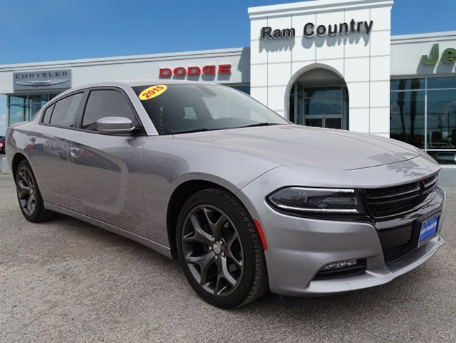 Used 2015 Dodge Charger SXT Sedan For Sale Del Rio, Texas