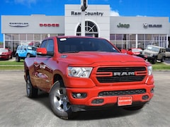 2019 Ram 1500 BIG HORN / LONE STAR QUAD CAB 4X2 6'4 BOX Quad Cab 1C6RREBT3KN735361 for sale in Mineral Wells, TX at Ram Country