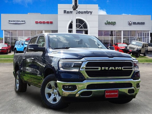 2019 Ram 1500 BIG HORN / LONE STAR CREW CAB 4X2 5'7 BOX Crew Cab 1C6RREFT5KN625163 for sale in Mineral Wells, TX at Ram Country