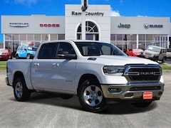 2019 Ram 1500 BIG HORN / LONE STAR CREW CAB 4X2 5'7 BOX Crew Cab 1C6RREFT6KN628122 for sale in Mineral Wells, TX at Ram Country