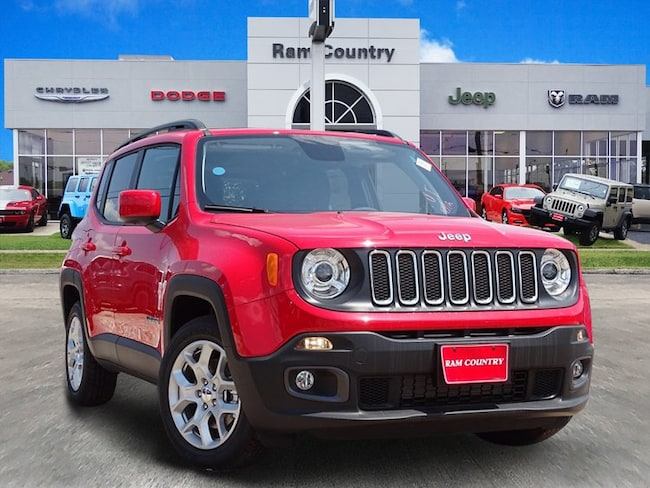Used 2018 Jeep Renegade Latitude FWD SUV For Sale Mineral Wells, TX