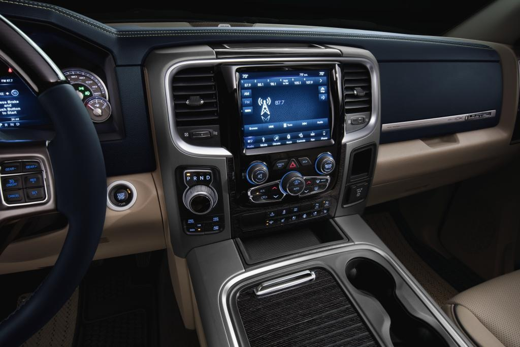 2018 Ram 1500 Driver Information Center