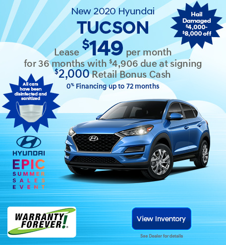 New 2020 Hyundai Tucson