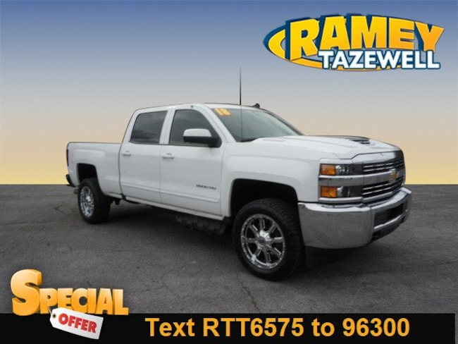 Used 2018 Chevrolet Silverado 2500HD LT Truck Crew Cab in North Tazewell