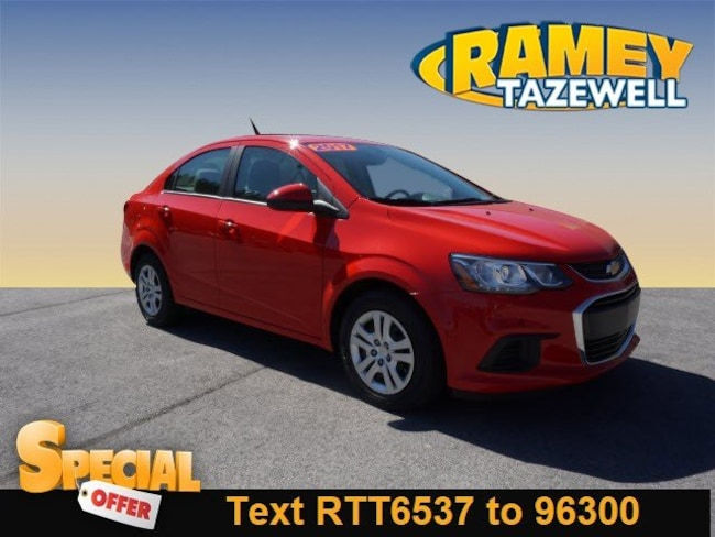 Used 2017 Chevrolet Sonic LS Auto Sedan in North Tazewell