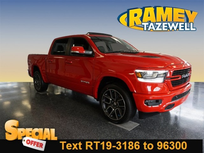 2019 Ram 1500 LARAMIE CREW CAB 4X4 5'7 BOX Crew Cab