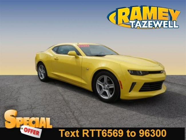 Used 2017 Chevrolet Camaro 2LT Coupe in North Tazewell