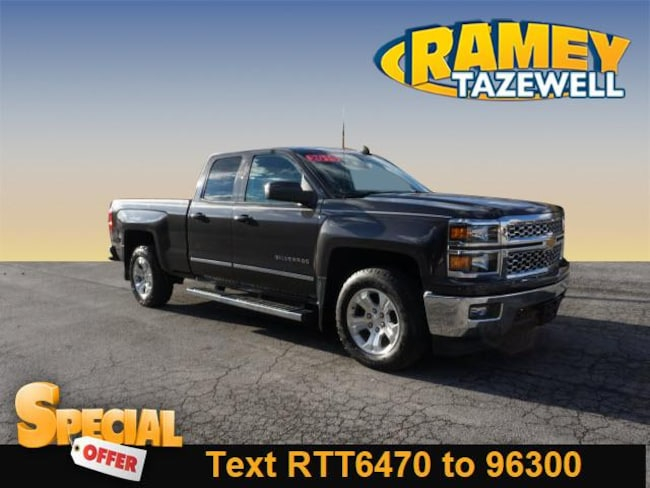 Used 2015 Chevrolet Silverado 1500 LT Truck Double Cab in North Tazewell