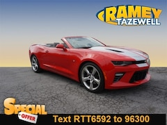 Used 2018 Chevrolet Camaro 1SS Convertible in North Tazewell