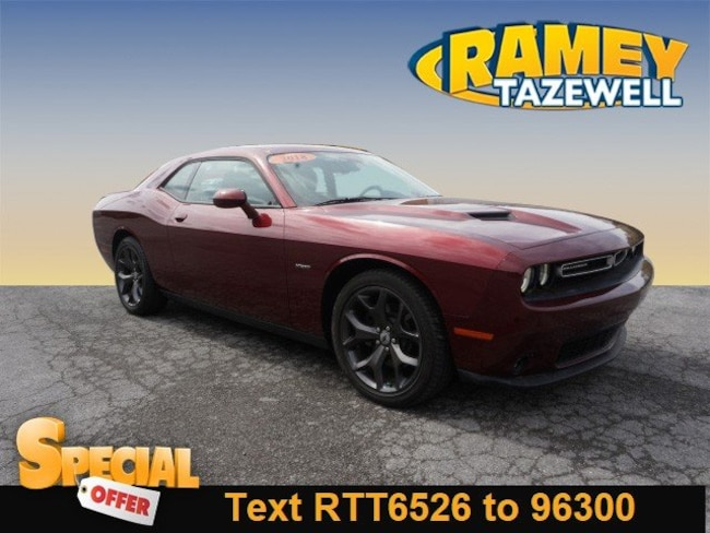 Used 2018 Dodge Challenger R/T Coupe in North Tazewell