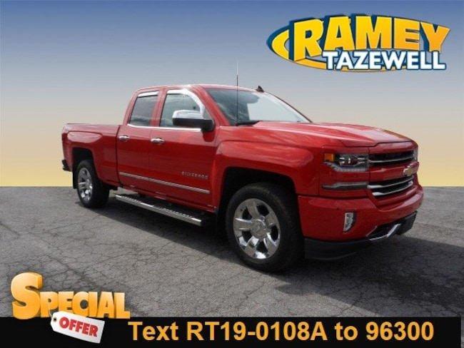 Used 2016 Chevrolet Silverado 1500 LTZ Truck Double Cab in North Tazewell