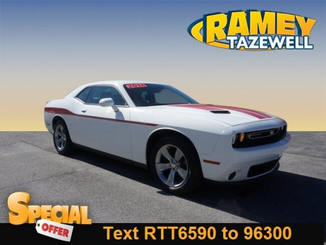 Used 2016 Dodge Challenger SXT Coupe in North Tazewell