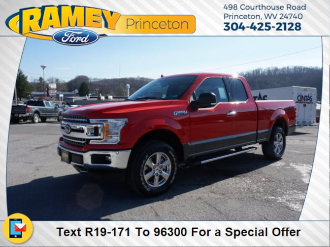 New 2019 Ford F-150 XLT Truck SuperCab Styleside For Sale/Lease Princeton, WV