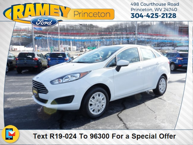 New 2019 Ford Fiesta S Sedan For Sale/Lease Princeton, WV