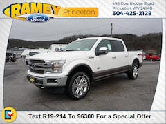 New 2019 Ford F-150 King Ranch Truck SuperCrew Cab 19-214 in Princeton, WV