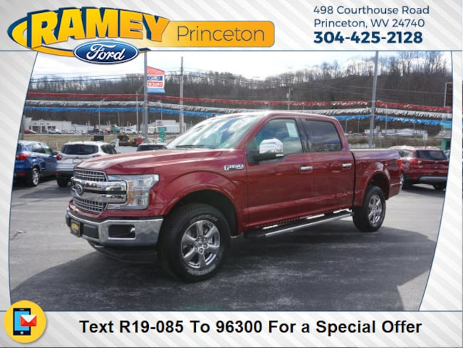 New 2019 Ford F-150 Lariat Truck SuperCrew Cab For Sale/Lease Princeton, WV