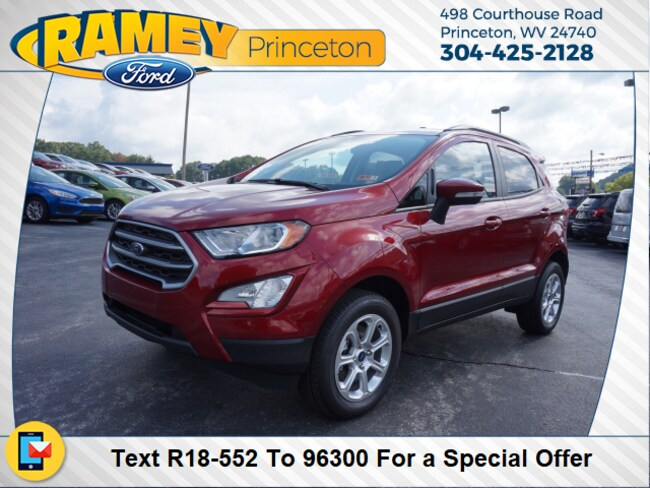 New 2018 Ford EcoSport SE SUV For Sale/Lease Princeton, WV