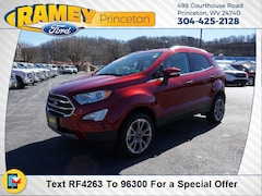 Used 2018 Ford EcoSport Titanium SUV F4263 for Sale in Princeton, WV