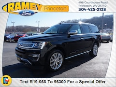 New 2019 Ford Expedition Platinum SUV 19-068 in Princeton, WV