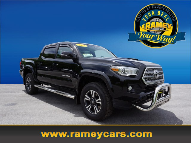 2016 Toyota Tacoma TRD Sport 4x4 TRD Sport  Double Cab 5.0 ft SB 6A