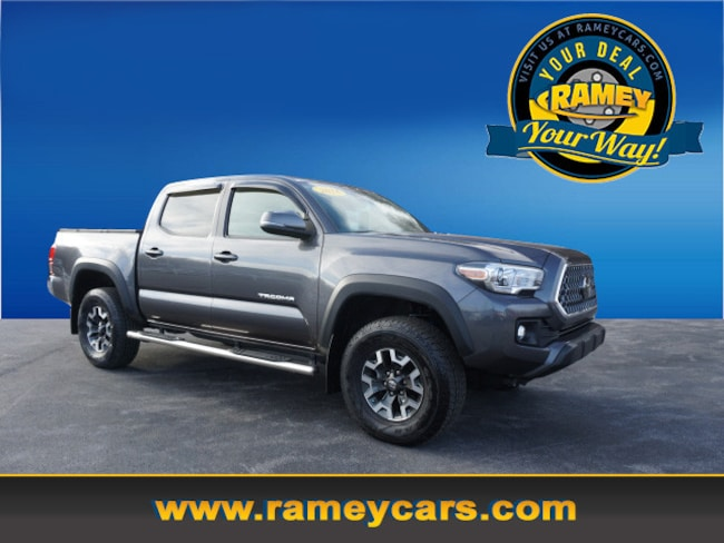 2018 Toyota Tacoma TRD Off-Road 4x4 TRD Off-Road  Double Cab 5.0 ft SB 6A