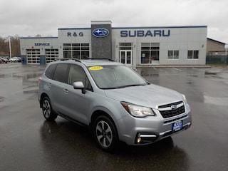 Used 2018 Subaru Forester 2.5 Premium, Remote Start, Eyesight, Blind Spot De SUV JF2SJAGC1JH493817 in Detroit Lakes, MN
